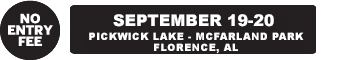 September 19-20 – Pickwick Lake, Florence AL